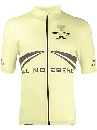 J.Lindeberg Bike branded zip top - Green