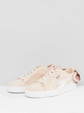 214f1a516ff2b Puma Suede Bow Valentines Sneakers In Pink - Pink