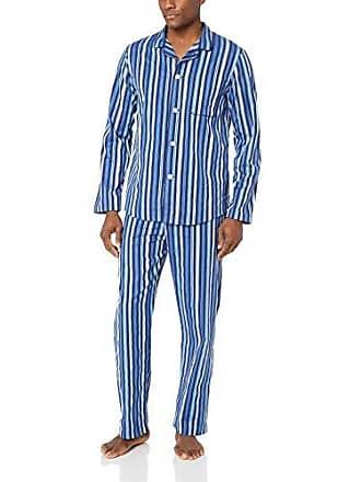 87aec77c2a Derek Rose Mens Royal 209 Navy Modern Pajama Set