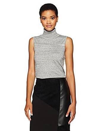 Calvin Klein Womens Racer Turtleneck Sweater, Heather Granite, S