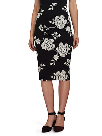 5twelve Floral-Embroidered Pencil Skirt
