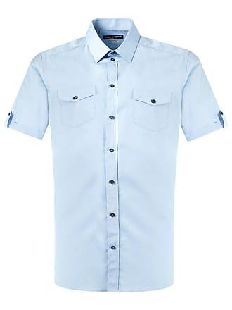 Dolce & Gabbana Camisa mangas curtas - Azul