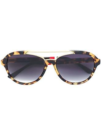 Orlebar Brown Óculos de sol quadrada - Estampado