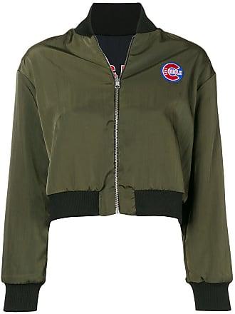être cécile Cubs reversible bomber jacket - Green