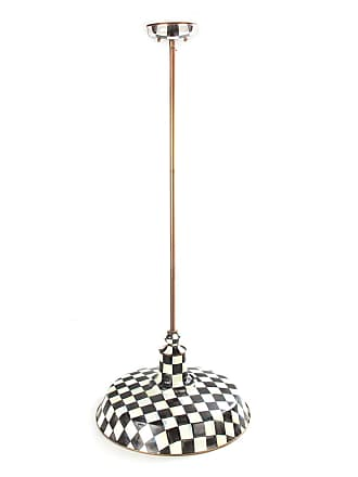 MacKenzie-Childs Courtly Check Barn Pendant Lamp, 18