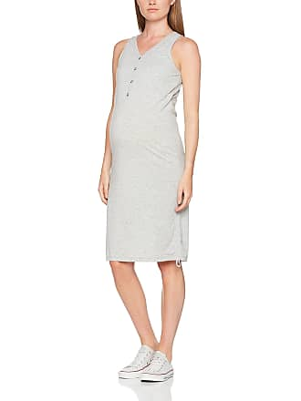 78516bca3 Mama Licious Womens MLANILLIA LIA S L Jersey Dress NF Maternity Light Grey  Melange