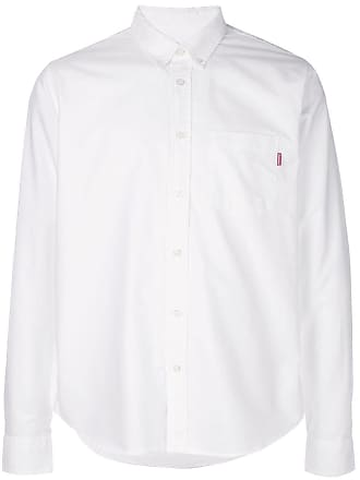SUPREME button-down shirt - White
