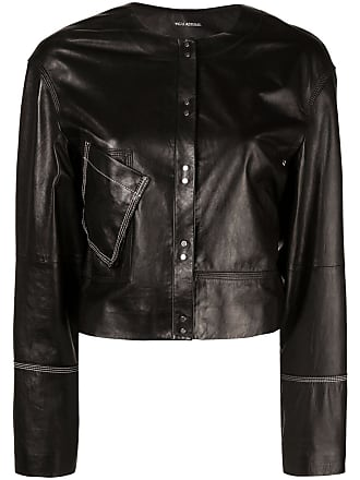 Yigal AzrouËl contrast stitching jacket - Black