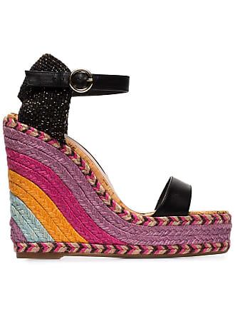 939d5b204b1c Sophia Webster multicoloured lucita 140 wedge sandals - Black