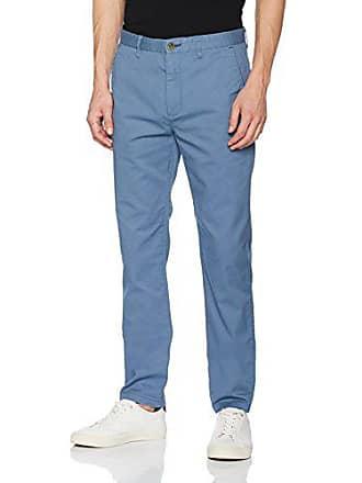 6c43c43c958fb Springfield Chino Slim, Pantalon Homme, Bleu (Blue), sans Objet (Taille
