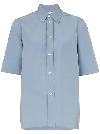 Plan C Camisa mangas curtas - Azul