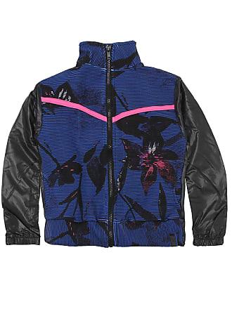 Alto Giro Jaqueta Alto Giro Menina Floral Azul