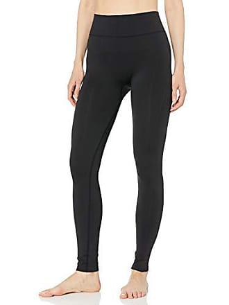 Maidenform Womens Seamless Baselayer Legging, Black, 2X Large
