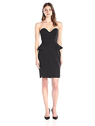 2bb927cb2bcb Finders Keepers Womens Take A Shot Strapless Dress, Black, Large
