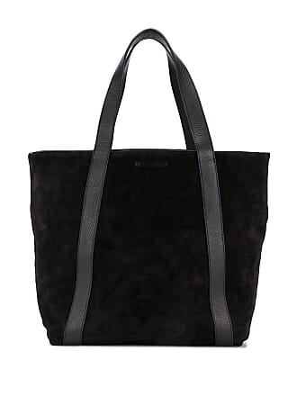 Ann Demeulemeester open top tote bag - Black