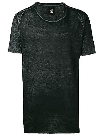 Thom Krom Camiseta decote arredondado com brilho - Preto