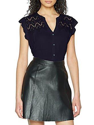 Pepe Jeans London ADA, Blouse col v Chemise sans manches en gaze de coton  Femme c9e346f8e17d