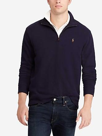 672f952f874c5 Polo Ralph Lauren Sweat zippé à capuche en nylon Bleu Polo Ralph Lauren