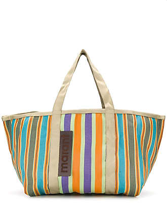 Isabel Marant large striped tote - Roxo