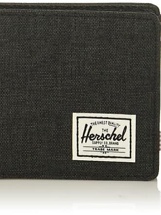 Herschel Herschel Mens Hank RFID Wallet Bi-Fold, Arrowwood/Tan Synthetic Leather, One size