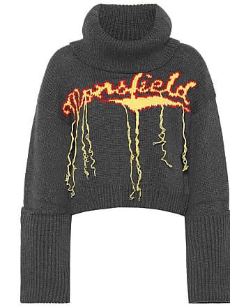 fddf26eeac80fd Monse Wool intarsia turtleneck sweater