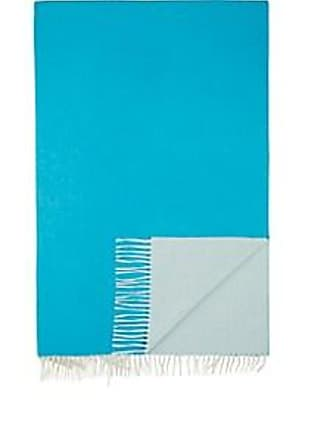 Barneys New York Double-Faced Cashmere Throw - Bright Blue