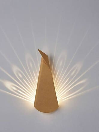Popup Lighting DEAR HEAD-Applique LED Cerf avec prise L39cm aluminium marron Popup Lighting - designé par Chen Bikovski