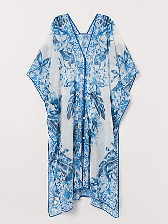 H&M Kaftan with Buttons - White