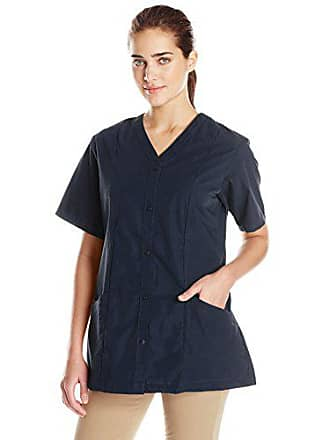 Red Kap Womens Easy Wear Tunic with Princess Seam, Navy, X-Large
