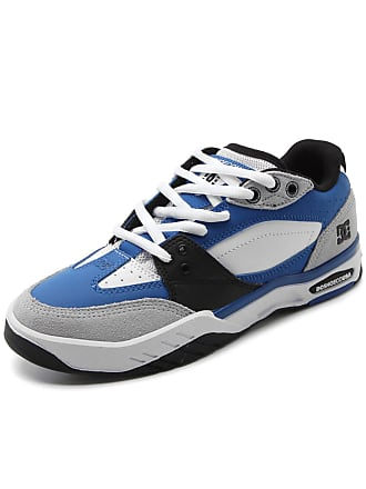 DC Tênis Couro DC Shoes Maswell Azul