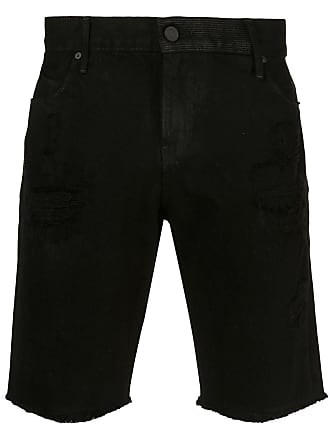 Rta Bermuda jeans destroyed - Preto