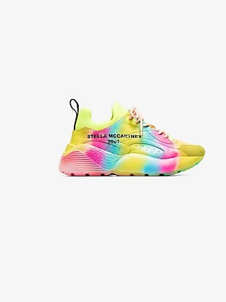 Stella McCartney multicoloured Eclypse rainbow low top sneakers