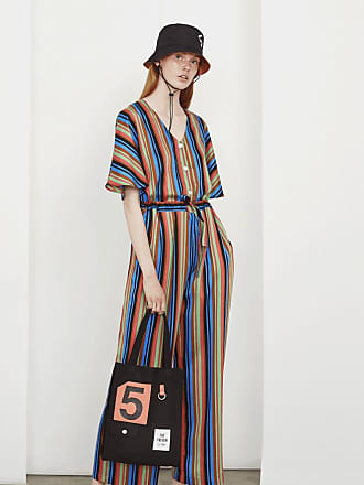5preview Margot Stripe Jumpsuit - Medium