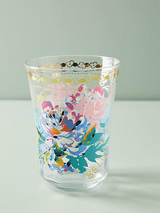 Anthropologie Gilded Journey Juice Glass