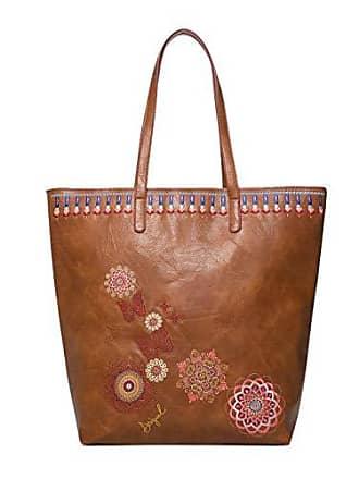 d48d218e4 Desigual Bag Chandy Rio Zipper Women, Shoppers y bolsos de hombro Mujer,  Marrón (