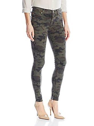 9d3b3b9c964 Hudson Womens Nico Midrise Ankle Super Skinny 5-Pocket Jean, INFANTRY CAMO,  30
