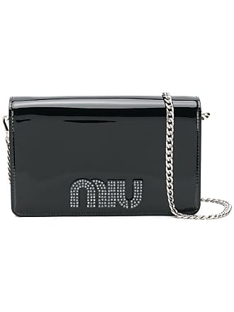 d4d64640579a Miu Miu embellished crossbody bag - Black