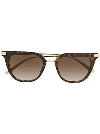 Dolce & Gabbana Eyewear Óculos de sol Panthos - Marrom