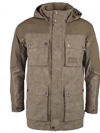 5c508c688695 Jack Wolfskin Cavendish Jacket Mantel für Herren   grau schwarz