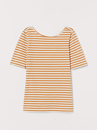 H&M Top with Low-cut Back - Yellow