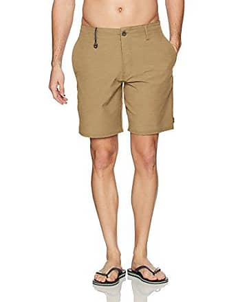 O'Neill Mens 19 Inch Outseam Hybrid Stretch Walk Short, Mocha/Traveler Recon, 40