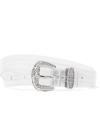 Tibi Pvc Waist Belt - Clear