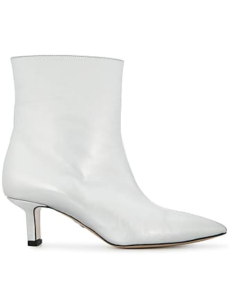 PAUL ANDREW Ankle boot metálica de couro - Metálico