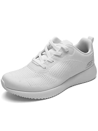 Skechers Tênis Skechers Performance Bobs Squad - Tough Tal Branco