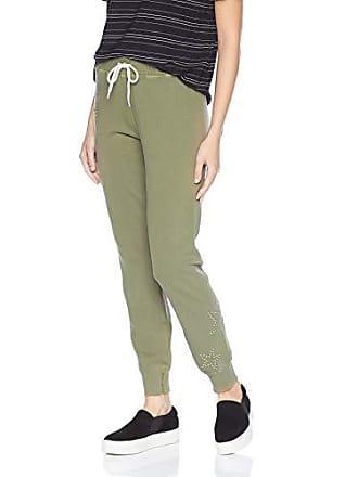 2fbbc36d Monrow Womens Cuff Sweats w/Star Dust Studs, Olive Extra Small