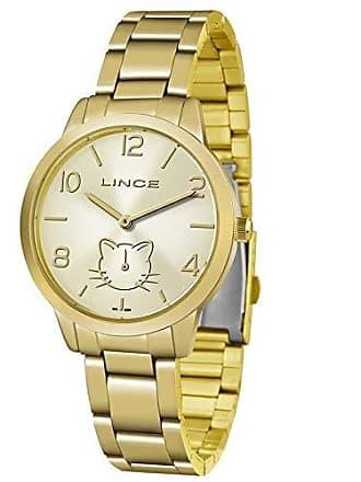 Lince Relógio Lince Feminino Ref: Lmg4574l C2kx Casual Dourado