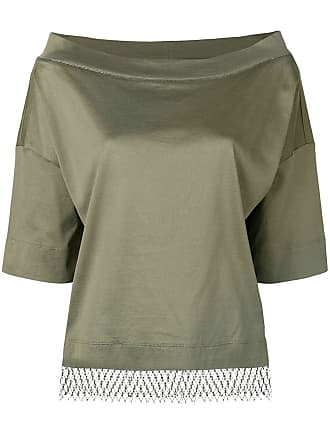 Fabiana Filippi boat neck top - Green