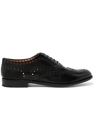 Churchs Burwood Glossed-leather Brogues - Black