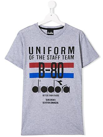 Diadora Camiseta Uniform - Cinza