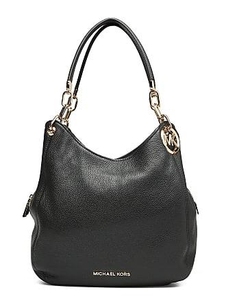 94f404c2 Michael Kors Lillie Lg Chain Shldr Tote Bags Top Handle Bags Svart MICHAEL  KORS BAGS